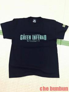 グリーンインフェルノ tシャツ